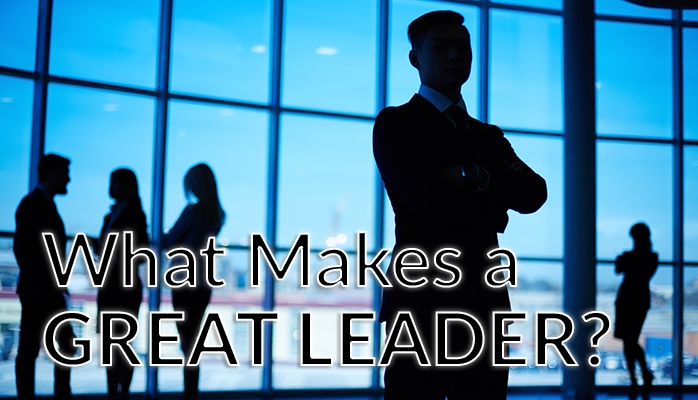 What Makes a GreatLeader?