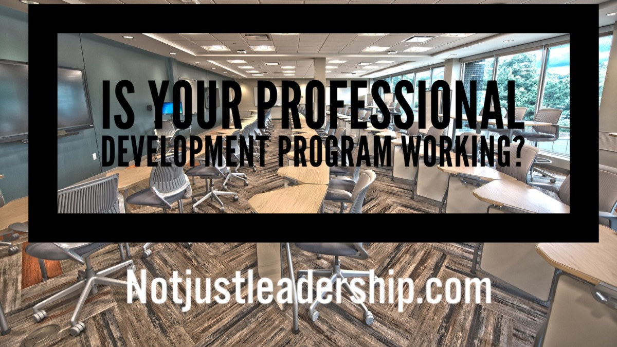 Is Your Professional Development Program Working?